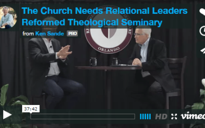 Reformed Theological Seminary: RW for Pastors